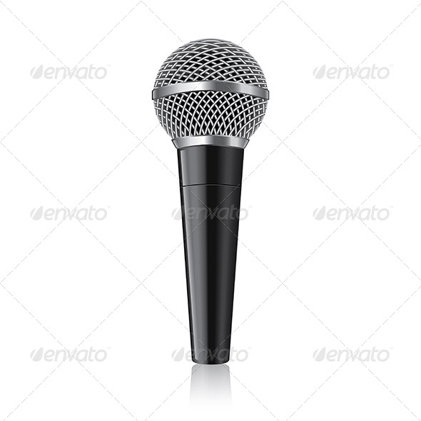 GraphicRiver Modern Microphone 7264801
