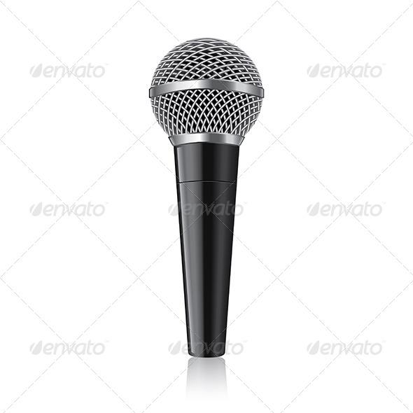 GraphicRiver Modern Microphone 7264801
