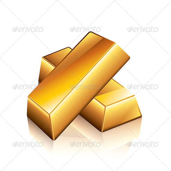 GraphicRiver Gold Bars 7264802
