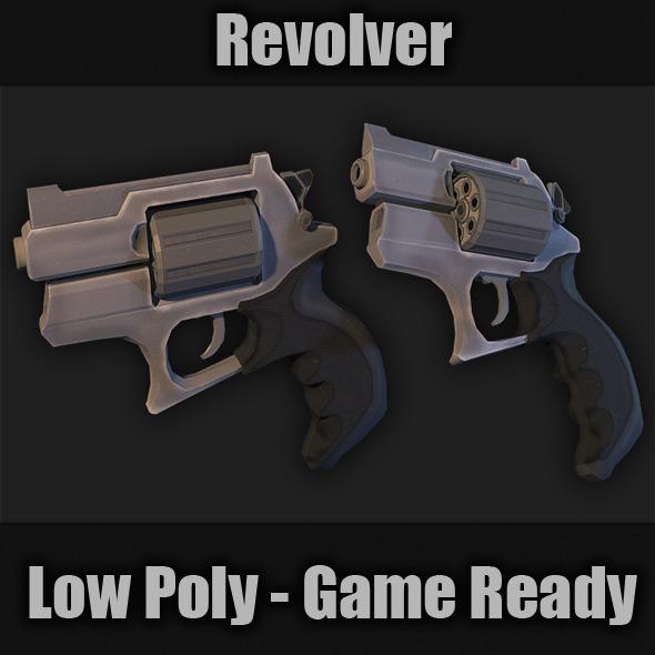 3DOcean Revolver 7264812