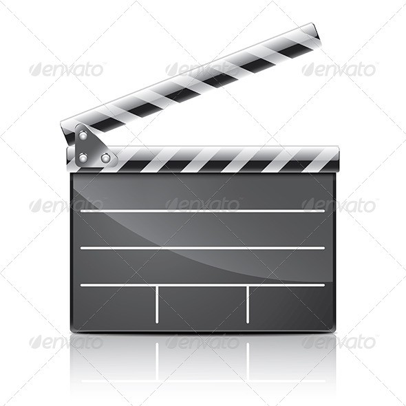 GraphicRiver Clapper Board 7264833