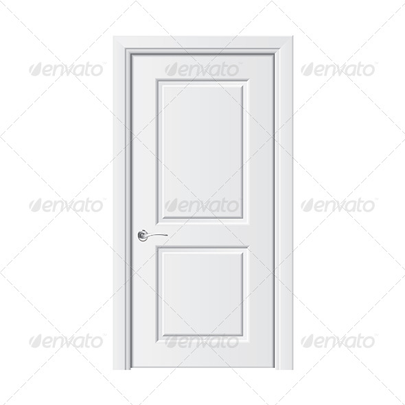 GraphicRiver White Door 7264840