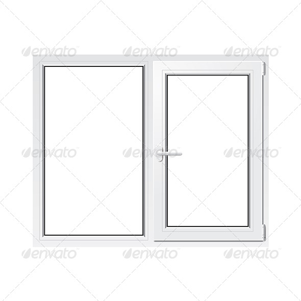 GraphicRiver White Plastic Window 7264853