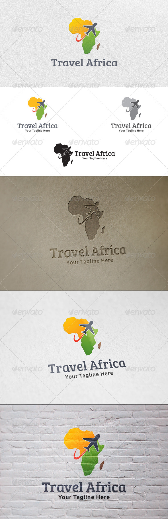 GraphicRiver Travel Africa Logo Template 7264887