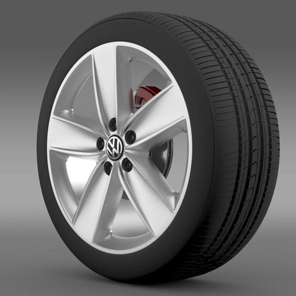 3DOcean VW Polo 2010 wheel 7264975