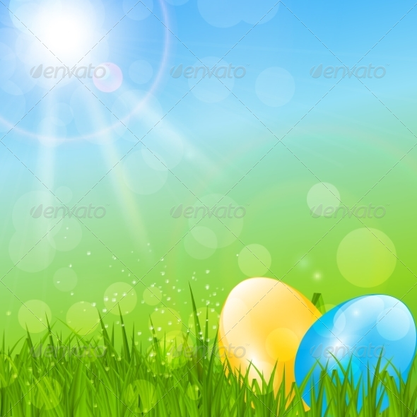 GraphicRiver Easter Background 7264993