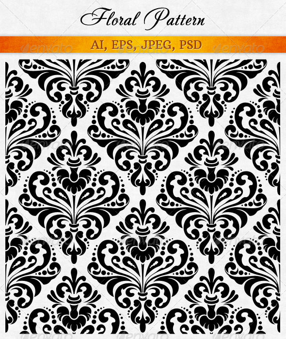 GraphicRiver Damask Wallpaper 7264996