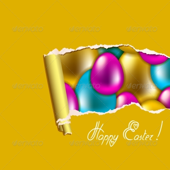 GraphicRiver Seamless Easter Background 7265056