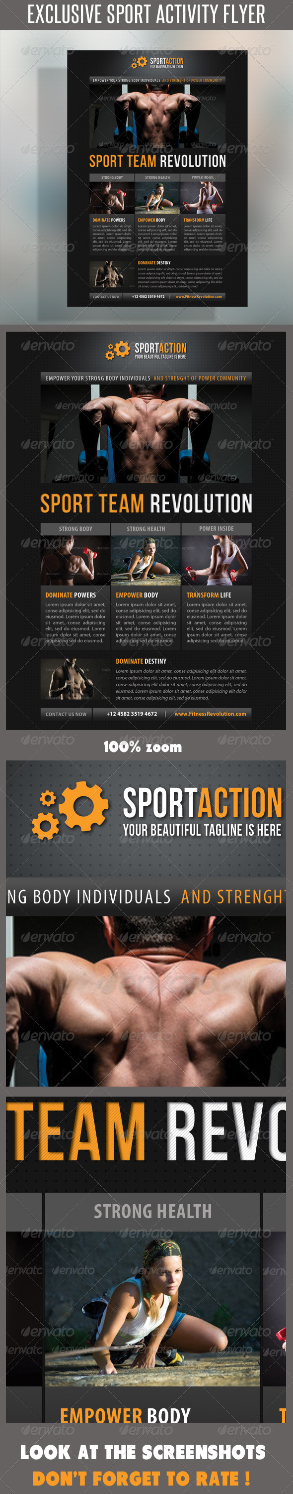 GraphicRiver Sport Multipurpose Flyer 16 7265127