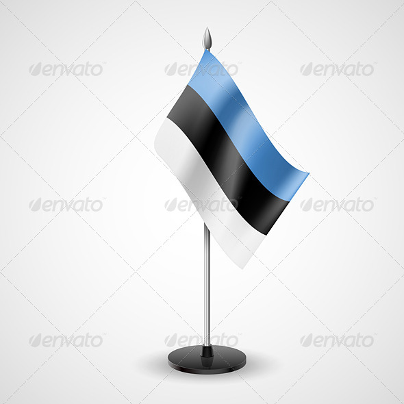 GraphicRiver Table Flag of Estonia 7265984