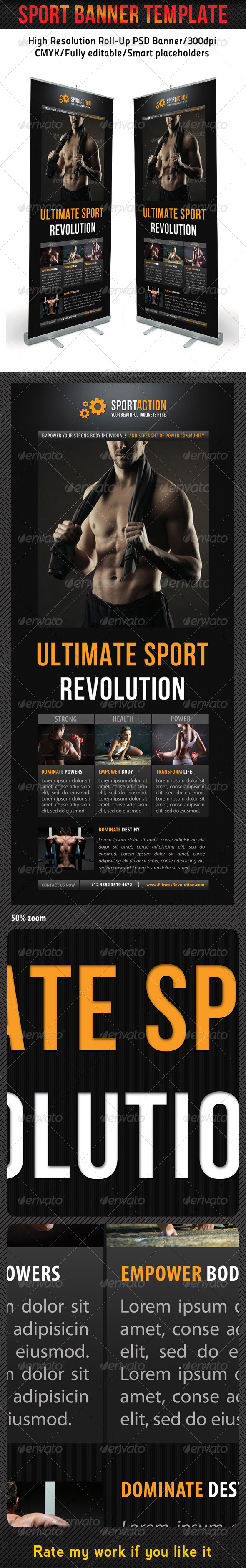 GraphicRiver Sport Banner Template 13 7266035