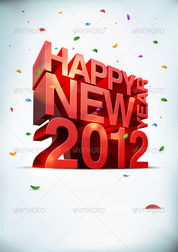 GraphicRiver Happy New Year 2012 758495