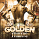 Golden Fridays Party - GraphicRiver Item for Sale
