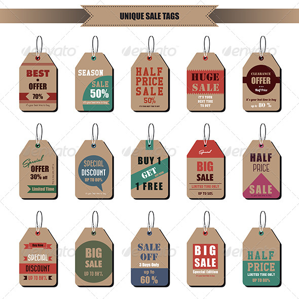 GraphicRiver Sale Tags 7268385