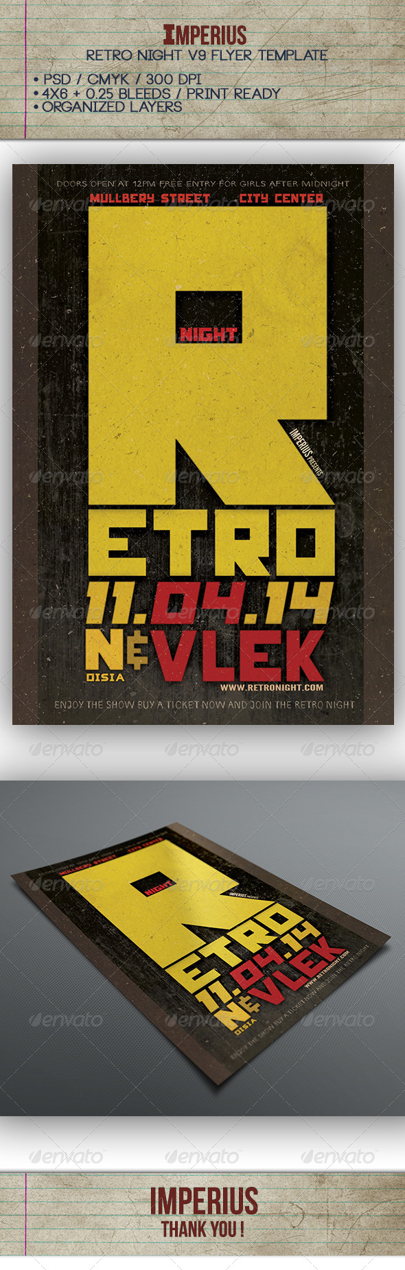 GraphicRiver Retro Night V9 7268439