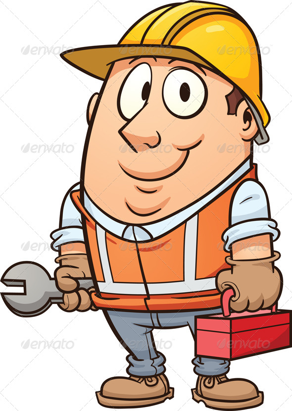 GraphicRiver Construction Worker 7268707