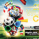 2014 Soccer Football Cup Flyer Template - GraphicRiver Item for Sale