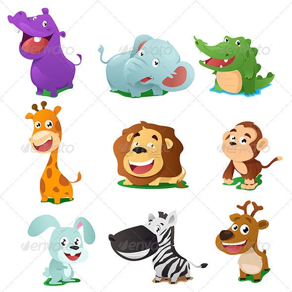 GraphicRiver Animal Icons 7269032