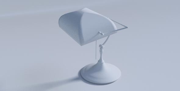 3DOcean Desk Lamp 7269261