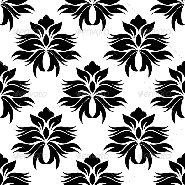 GraphicRiver Floral Seamless Pattern 7269806