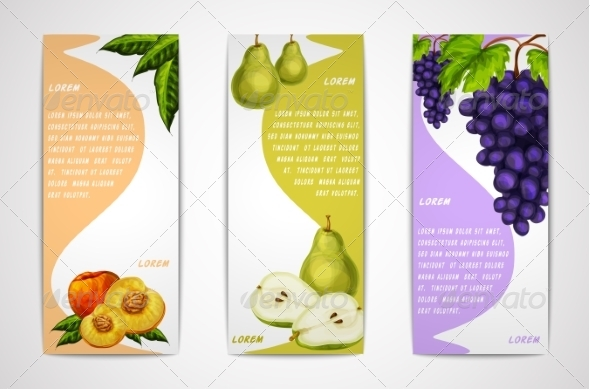 GraphicRiver Fruit Banners 7270504