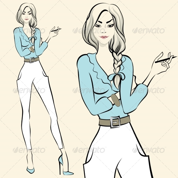 GraphicRiver Woman 7270508
