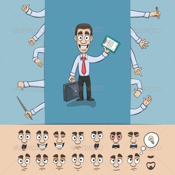 GraphicRiver Business Man 7270512