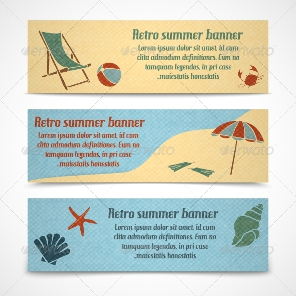 GraphicRiver Vacation Banners 7270515
