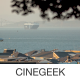 City Bay with Cargo Ships - VideoHive Item for Sale