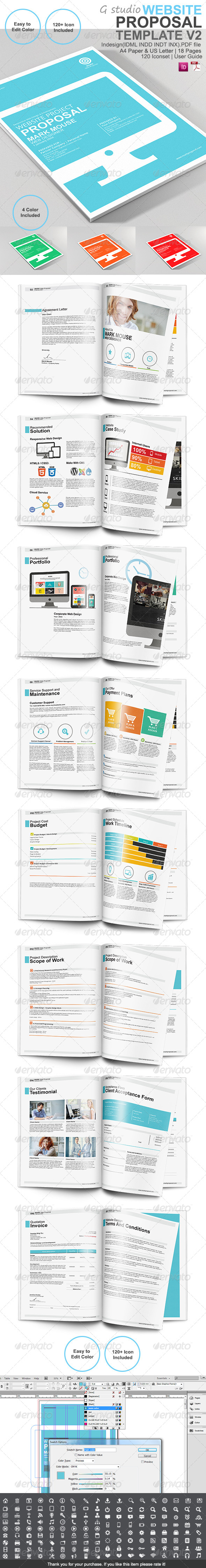 GraphicRiver Gstudio Website Proposal Template V2 7272133