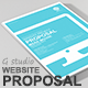 Gstudio Website Proposal Template V2 - GraphicRiver Item for Sale