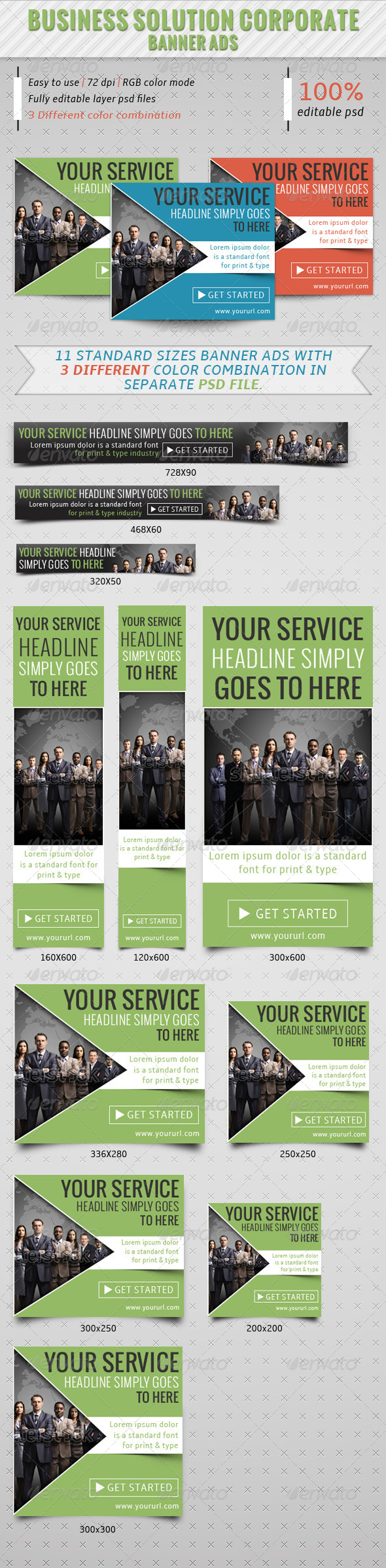 GraphicRiver Business Solution Corporate Banner Ads 7240123