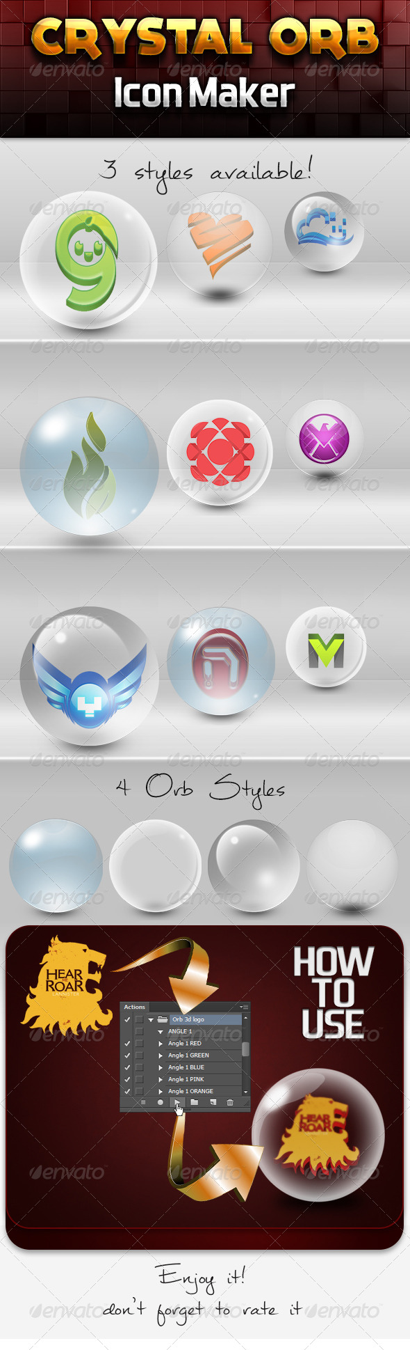 GraphicRiver Crystal Orb 3D Icon Maker 7222758