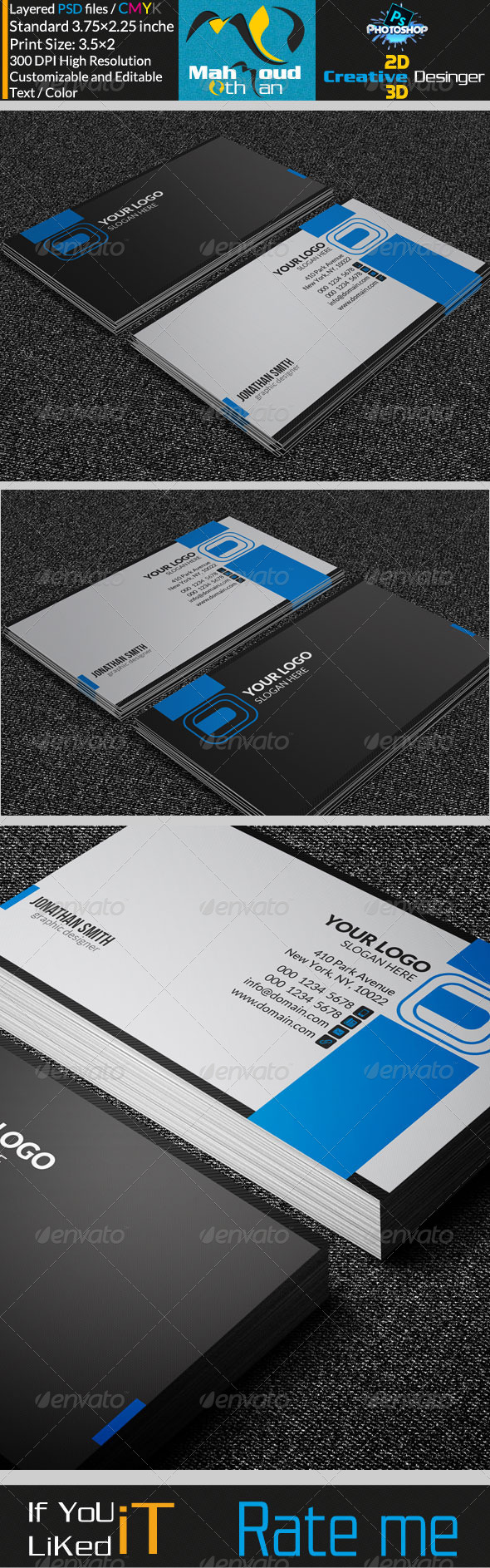 GraphicRiver Corportae Business Card V16 7272881