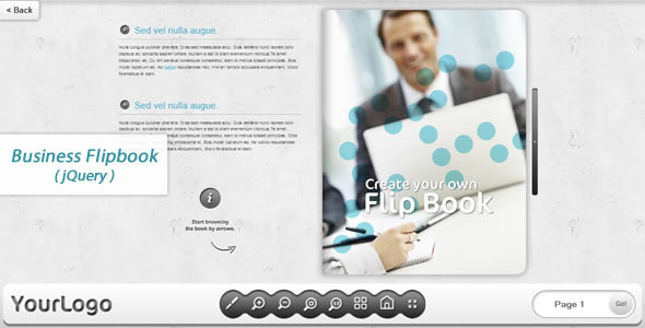 CodeCanyon Business FlipBook jQuery 7272885