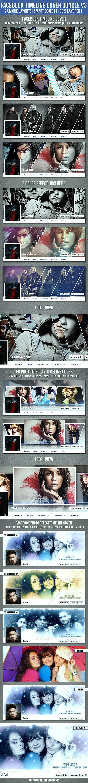 GraphicRiver Facebook Timeline Cover Bundle V3 7250074