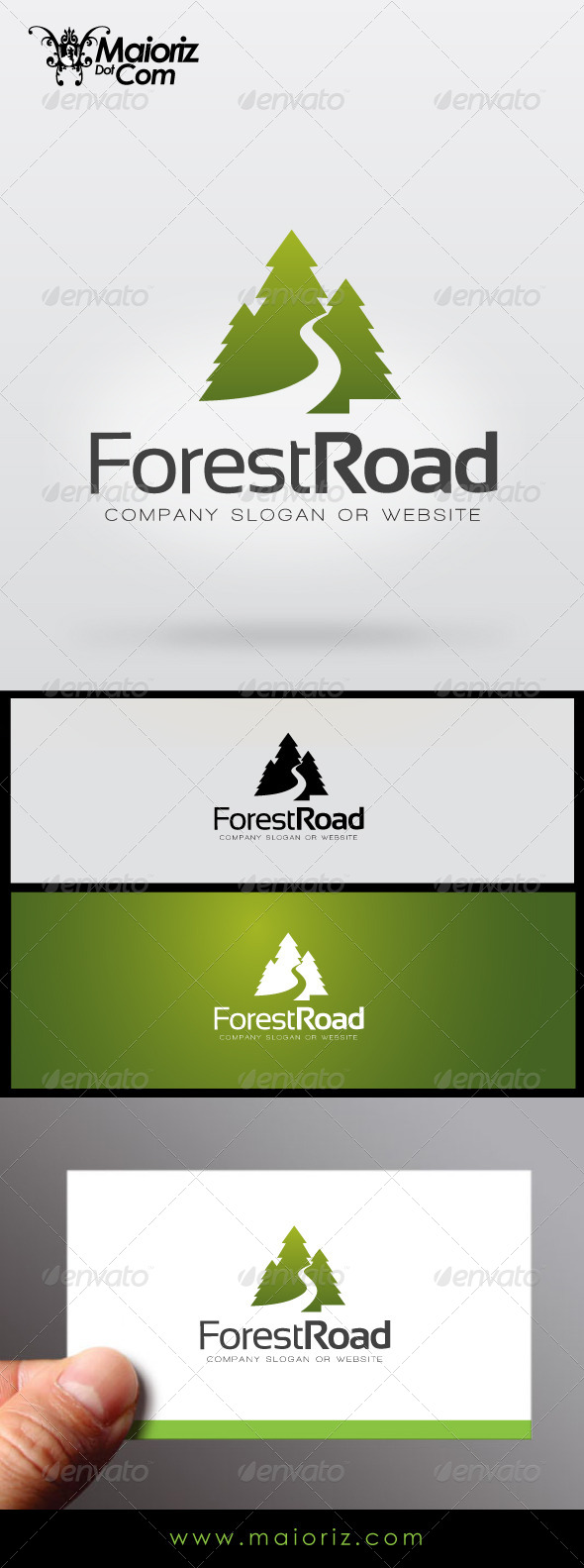GraphicRiver Forest Road Logo 7272968