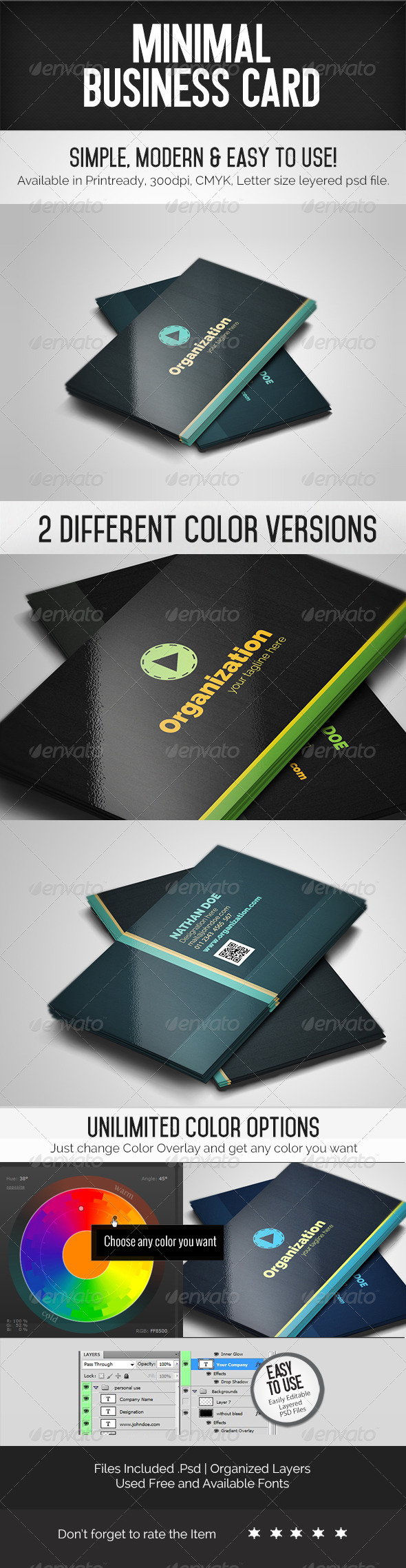 GraphicRiver Minimal Business Card 7273103