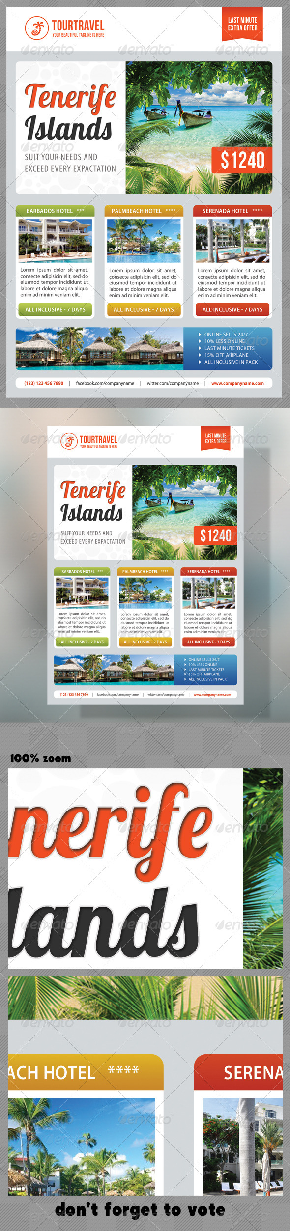 GraphicRiver Travel Agency Corporate Flyer 08 7273223