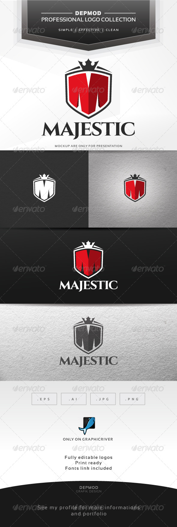 GraphicRiver Majestic Logo 7273294