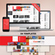 3in1 Youtube Background Templates - GraphicRiver Item for Sale