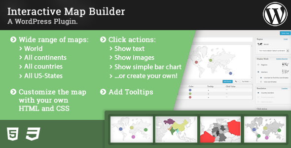 CodeCanyon Interactive Map Builder 7229358