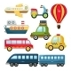 Vector Transportation - GraphicRiver Item for Sale
