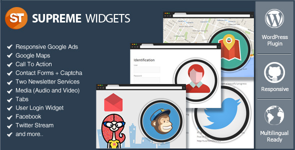 CodeCanyon Supreme Widgets Social Marketing WordPress Plugin 7255272