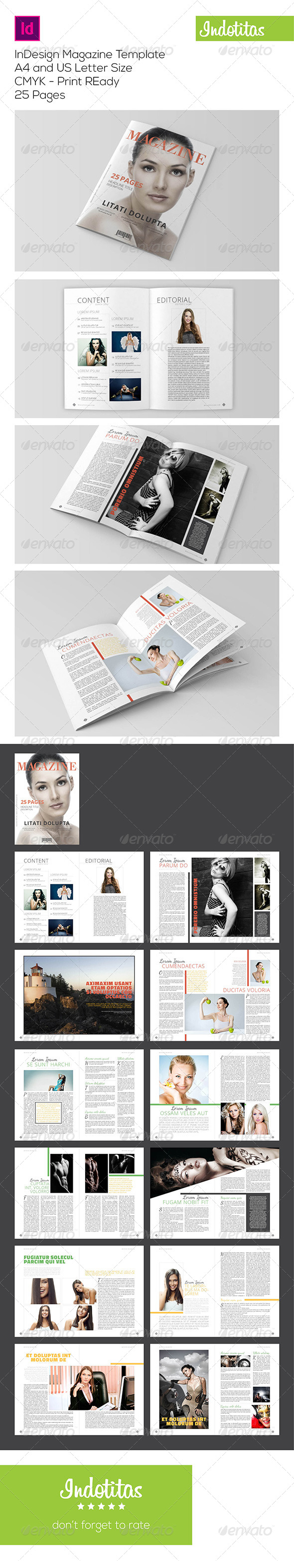 GraphicRiver InDesign Magazine Template 7274210