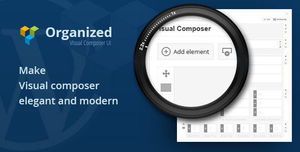 CodeCanyon Organized Visual Composer UI 7251998