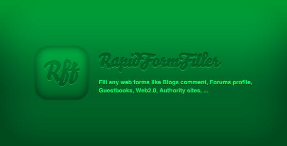 CodeCanyon RapidFormFiller Fill Any Web Forms 759024