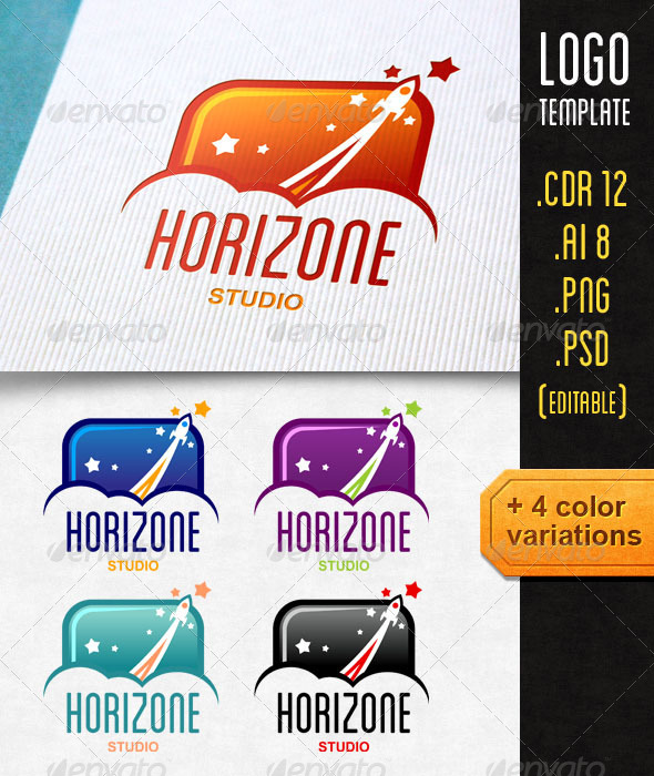 GraphicRiver Horizone Logo Template 7278084