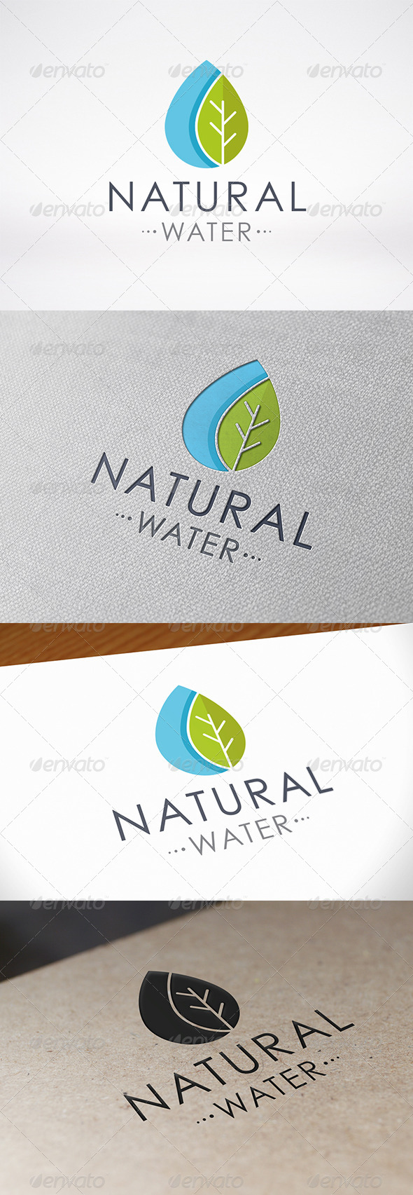 GraphicRiver Green Water Logo Template 7278340