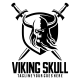 Viking Skull Logo Template - GraphicRiver Item for Sale